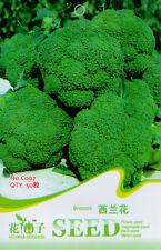 1 Pack 50 Green Broccoli Seeds Cauliflower Organic C007