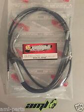 KAWASAKI 750 H2 A/B/C - Câble de gaz - Made in Japan - Chromé