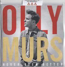 OLLY MURS- Never Been Better PROMO SAMPLER 5 Trk CD (RARE) Seasons/Wrapped Up