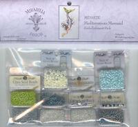 Cross Stitch ~ Mirabilia Embellishment Pack for Mediterranean Mermaid #MD102E