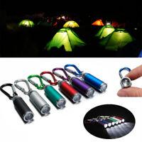 Powerful Mini LED Battery Lights Lamp Flashlight ZOOM Torch Color Random