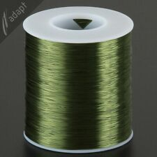 30 AWG Gauge Magnet Wire Green 3200' 155C Solderabl Enameled Copper Coil Winding