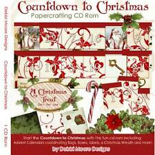 Debbi Moore Countdown To Christmas Papercrafting CD Rom (321223)