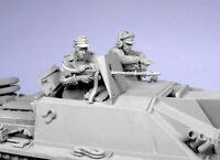 1/35 Resin German Stug Crew 2 Soldiers SummerUnpainted unassembled QJ137