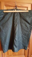 Nwt Ladies Coated Denim Pencil Skirt Size 20 By Simply Be