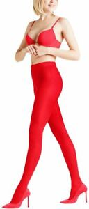 Falke Womens Matte Deluxe 30 Den Tights - Lipstick Red