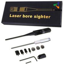 Red Laser BoreSighter Bore Sight kit for .22 to .50 Caliber Rifles Handgun DE