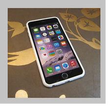 IPhone 6 plus Schutzhülle TPU SILIKON BUMPER   CASE COVER SCHALE weiß C5W