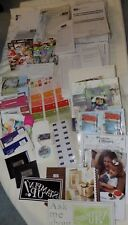 Stampin' Up Demonstrator Supplies Lot -Bags, Cards, Booklets, Order Forms & More