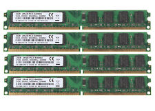 Lot Kits 8GB (4X 2GB) 2Rx8 PC2-6400 DDR2 800Mhz 1.8V CL6 Memory DIMM RAM Desktop