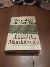 More About All About Eve - By Joseph Mankiewicz - first edition