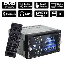 """Double 2Din 6.2"""" Car Stereo DVD CD MP3 Player HD In Dash Bluetooth TV Radio TL"""