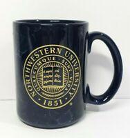 Indigo Blue 1851 Northwestern University (Quaecumque Sunt Vera) Coffee Mug Cup