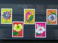SURINAME,SURINAM '1978 ** MNH 704/8 YT 5,00 EUR FLORE,FLORA,FLEURS,FLOWERS