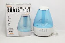 Crane EE 5202 Inhaler & Warm Mist Humidifier, 0.5 Gallon, Blue & White