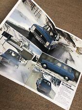 Prospekt Renault 6 aus den späten 70er Jahre