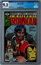 IRON MAN #128 - CGC Graded 9.2 - White Pages