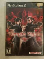 Vampire Night (Sony PlayStation 2, 2001) PS2 Tested N0 MANUAL RARE FREE S/H