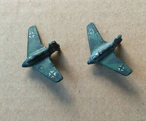 German ME163 fighter aircraft  x 2 Heroics and Ross 1/300 6mm scale