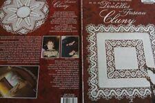 Livre dentelle-Bobbin lace book- Dentelle au Fuseau-Cluny-Fouriscot-Salvador