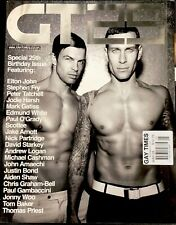 Gay Times Special 25th Birthday Issue. May 2009.