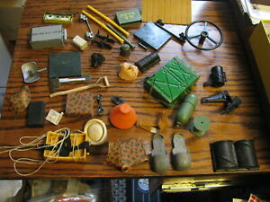 Vintage GI Joe Soldier / Figure Accessories     Lot # GI 5