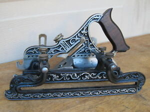 "Miller""s Patent STANLEY No.41 PLOW PLANE W/ FILLETSTER BED,1883 TYPE 6. FINE"