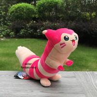 "Pokemon Go Plush Shiny Furret 17"" Pink Pocket Monsters Stuffed Toy Soft Doll"