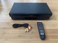 JVC HR-J692U VCR With Remote Video Cassette Player VHS Recorder 4 Head Hi-Fi