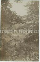 Sheffield, Rivelin Valley 1907 Real Photo Postcard, C025
