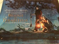 Bridge To Terabithia Original U.K. Quad Poster