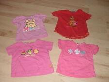5 süße weiche T-Shirts Shirts Tunika Baby Gr. 62-68 bfc C&A Disney Topolino Supi