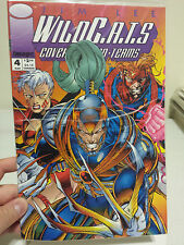 WILDC.A.T.S Covert Action Teams #4 1993 Image with Wizard Card