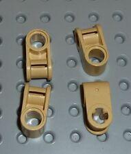 LEGO-TECHNIC ejes y Pin Conector perpendicular tan X 4 (6536) TK282