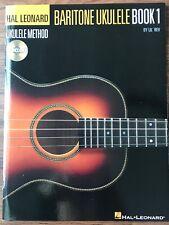Hal Leonard Baritone Ukulele Method Book 1 New With Cd
