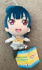Love Live Sunshine Yoshiko Tsushima Yohane Plush Doll FuRyu Aqours From Japan