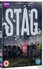 STAG [BBC] (DVD 2016)~~~UK HORROR/COMEDY~~~Stephen Campbell Moore~~~NEW SEALED