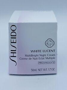 Shiseido WHITE LUCENT MultiBright Night Cream Full Size 50ml 1.7oz. SEALED  #121