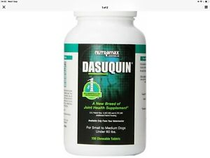 Dasuquin Chewable Tablets for Small to Medium Dogs, 150 Tablets