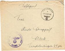 *Feldpost II. WK - 1942 * nach Lübeck (35)