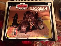Vintage Star Wars Dagobah Action Playset 1980 new in mint sealed box