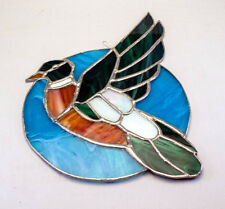 Handcrafted Stained Glass Window Hanger - Estate Sale