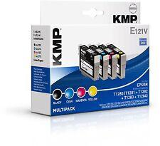 Original KMP E121V Vorteilspack für Epson Stylus T1285 T1281 S22 SX125 SX130
