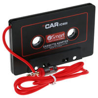 Cassette Car Audio Tape Adapter iPhone iPod Nano MP3 MP4 Radio 3.5 mm Jack Aux