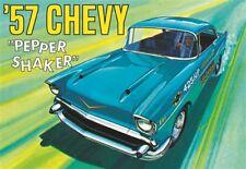 Amt 1079 1957 CHEVY Bel Air PEPPER SHAKER Gasser 2 in 1 plastic model kit 1/25