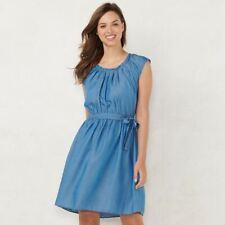 LC Lauren Conrad Pleat Neck Dress - Size XL