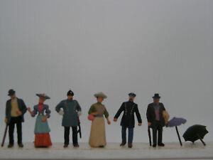 PERSONNAGES 1900 en HO PREISER