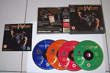 PS1 Playstation WING COMMANDER IV 4 The price of freedom - Psone PAL 4 cd