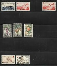 Algeria: little lot good thematic and semi-postal stamps mint, EBPP001