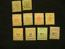 China: collection of Shanghai Local Post Stamps